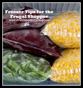 freezer tips frugal living