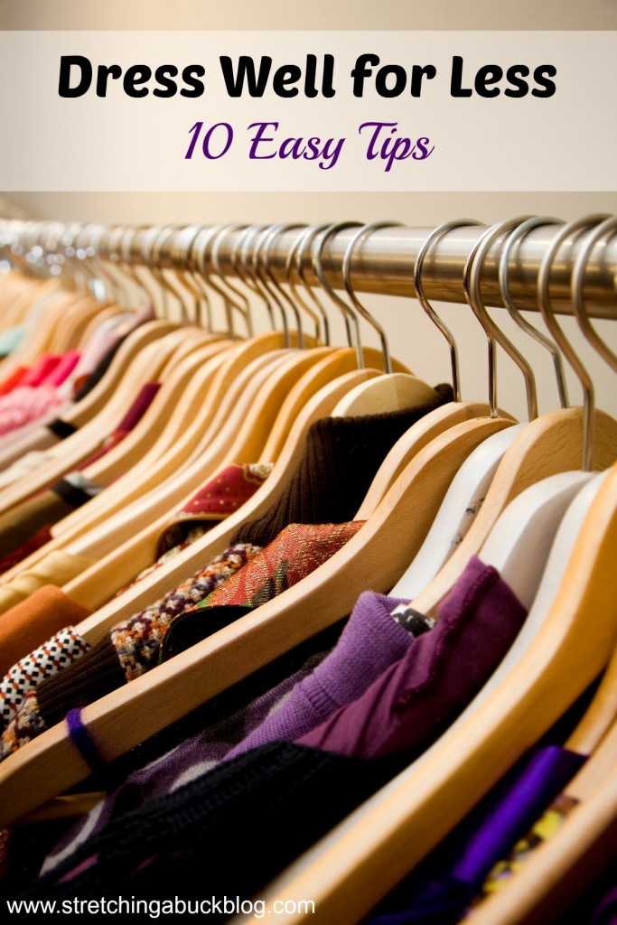 frugal clothing tips dress well for less