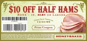 honey baked ham online printable coupon