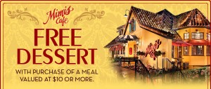 mimi's cafe free dessert printable coupon