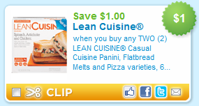 picture relating to Lean Cuisine Coupons Printable known as $1/2 Lean Delicacies Printable Coupon + Much more - Stretching a