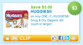 This is a photo of Current Printable Huggie Diaper Coupons
