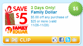 photo relating to Family Dollar Printable Coupons titled Printable discount codes for family members greenback / Spirit halloween