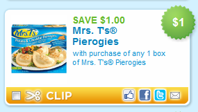 Mrs t's pierogies coupons printable