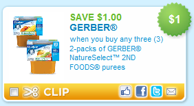Get free Gerber Baby Food coupon codes, promo codes & deals for Dec. Saving money starts at 100loli.tk