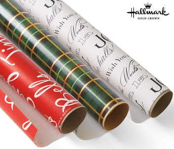 Hallmark: Holiday Gift Wrap for $0.49/roll - Stretching a Buck ...