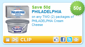 Feb 10, · Kroger: Load this Philadelphia e-coupon to your kroger card and redeem it in store. $1 Off Philadelphia Cream Cheese Coupon In Grocery: Print a coupon instantly to get $1 off any one Philadelphia 2-pack Cream Cheese Brick. Save $1 Off Any 4 Philadelphia Cheese Print a coupon to save $1 on any 4 Philadelphia Cream Cheese 8 oz. bricks/5(5).