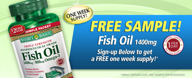 Nature S Bounty Fish Oil At Giant Eagle