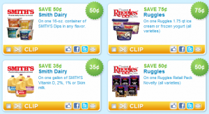 graphic regarding Smiths Coupons Printable known as Ruggles Ice Product and Smiths Dairy Discount codes - Stretching a