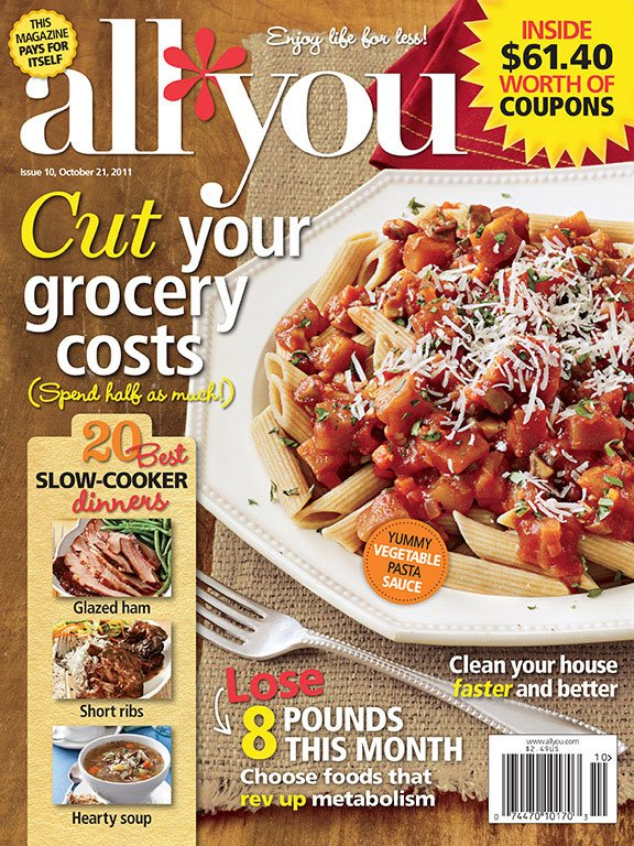 Coupons all you magazine