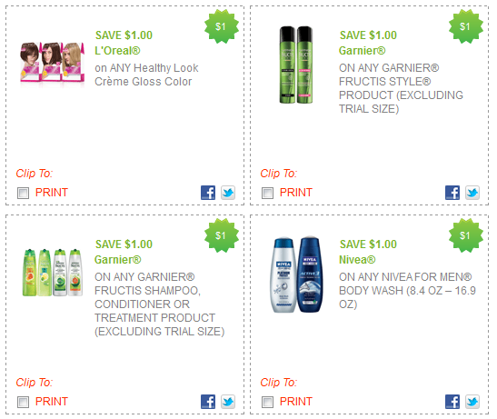 photograph relating to Garnier Coupons Printable referred to as Garnier, Nivea and LOreal Printable Coupon codes - Stretching a