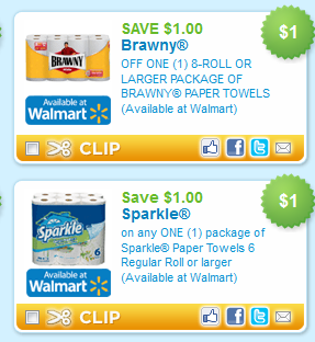 photograph regarding Brawny Printable Coupons named Brawny Sparkle Paper Towels Discount codes Help you save $1/1