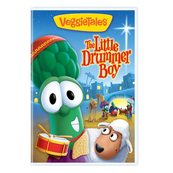 VeggieTales The Little Drummer Boy DVD & O Holy Night CD Giveaway ...