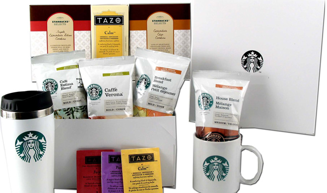 Starbucks gift set from plum district for stretching
