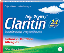 non drowsy claritin product coupons