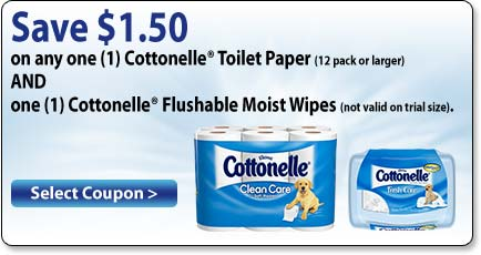 image relating to Cottonelle Coupons Printable called Fresh new Cottonelle Tub Tissue Flushable Wipes Coupon Help save