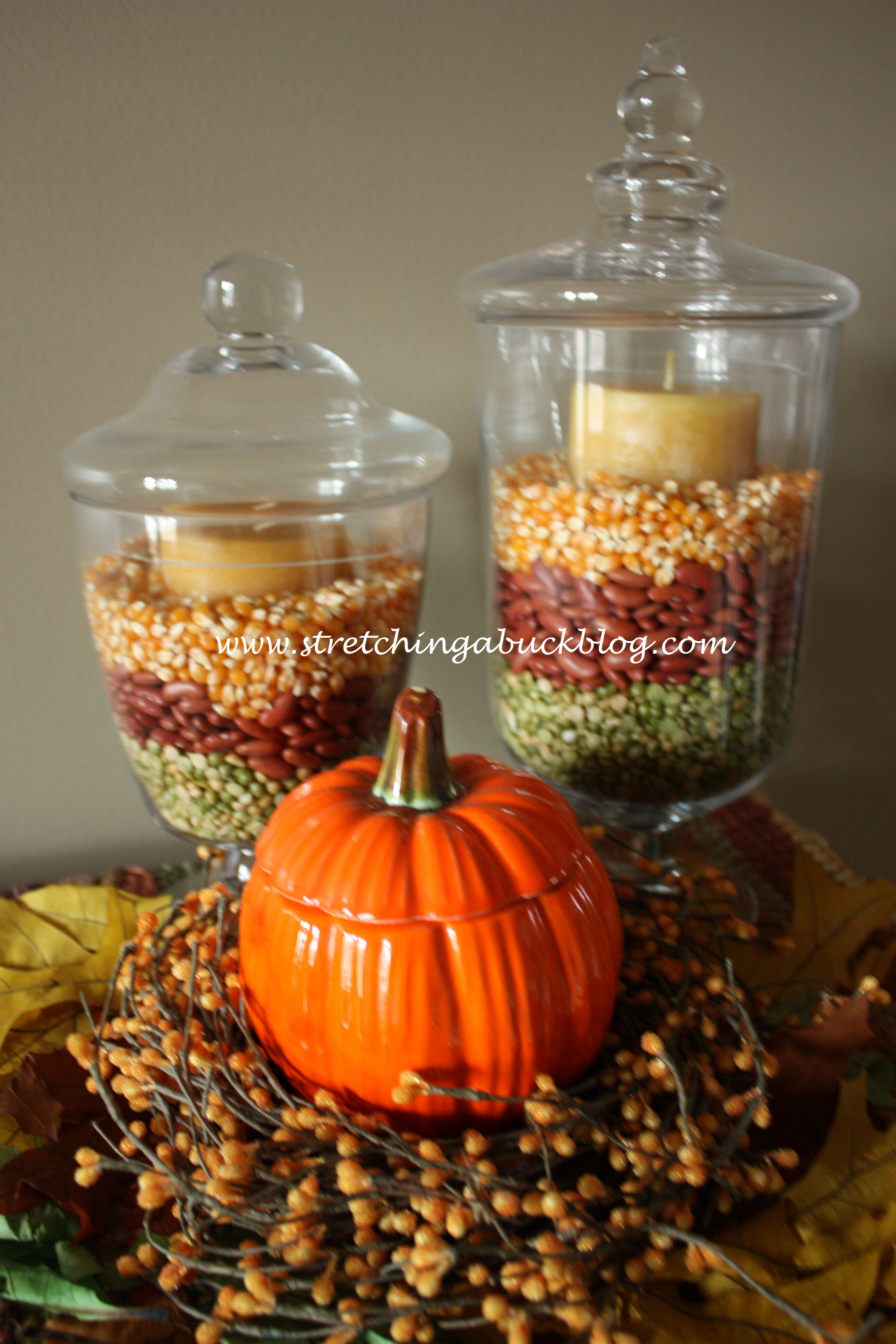 Inexpensive Table Decorations For Fall Photograph What Are