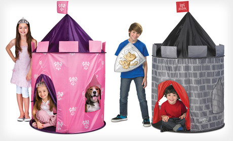 On Groupon today you can get a Discovery Kids Pop-Up Tent ... & Discovery Kids Pop-Up Princess or Knight Tent Castle | $20 Shipped ...