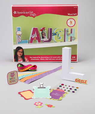 American girl craft kits on sale on zulily stretching a for American girl craft kit