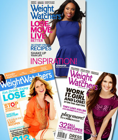 weight watcher 39 s magazine 1 year subscription for 10. Black Bedroom Furniture Sets. Home Design Ideas