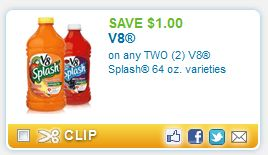 V8 coupons 2018