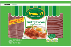 jennie-o turkey bacon