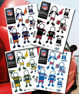 nfl decal