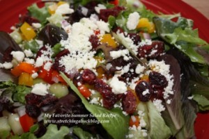 favorite summer salad recipe