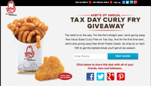 Arbys-Tax-Day-FREE-Curly-Fries-COUPON