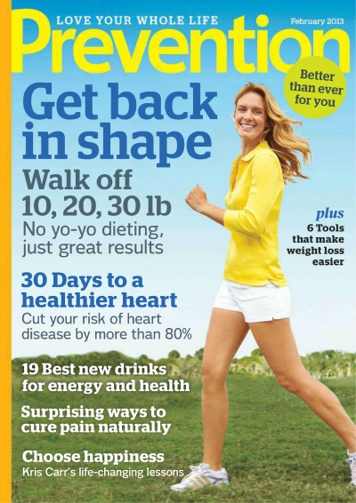 Prevention Magazine Subscription Deal 1 Year For