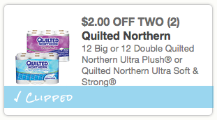 New Quilted Northern Bath Tissue Coupon Save 2 2 Stretching A Buck Stretching A Buck