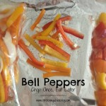 Thumbnail image for Multi-tasking Bell Pepper Prep: Chop Once, Eat Later | Cooking at Home with Stretching a Buck