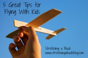 tips for flying with kids airplane