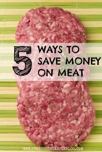 how to save money on meat tips
