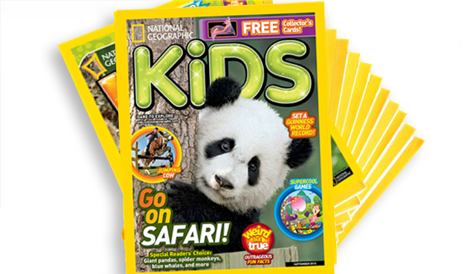 National Geographic Kids Magazine Subscription   1-Year for $12 ...
