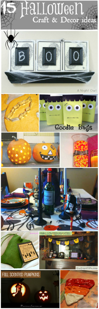15 Halloween Craft & Decor ideas