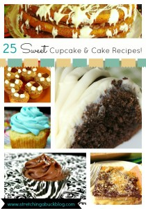 25 sweet cupcake and cake recipes