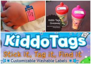 Kiddo tags giveaway review