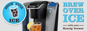 brew over ice with your keurig brewer coupon giveaway