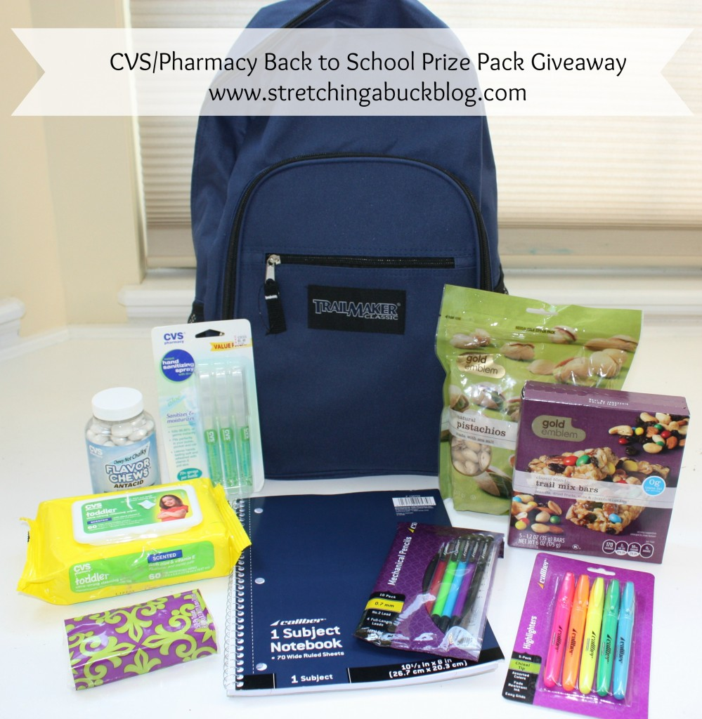cvs  pharmacy prize pack giveaway