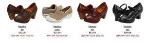dansko coupon code free shipping