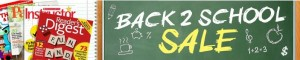 discount mags back to school sale