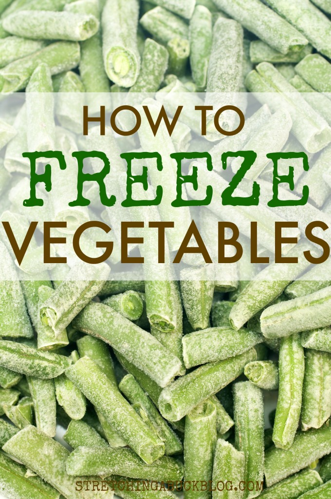 how to freeze vegetables tips and tricks
