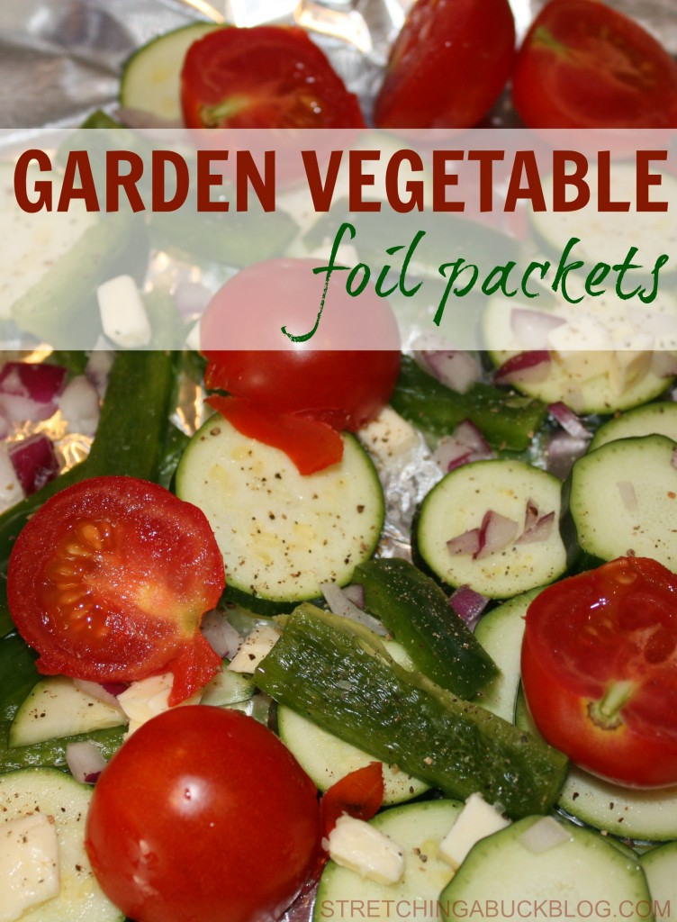 how to make garden vegetable foil packets