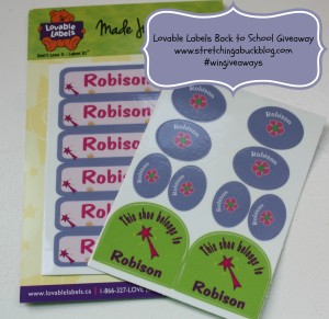 lovable labels review and giveaway