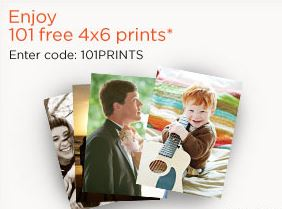 shutterfly 101 free prints coupon code