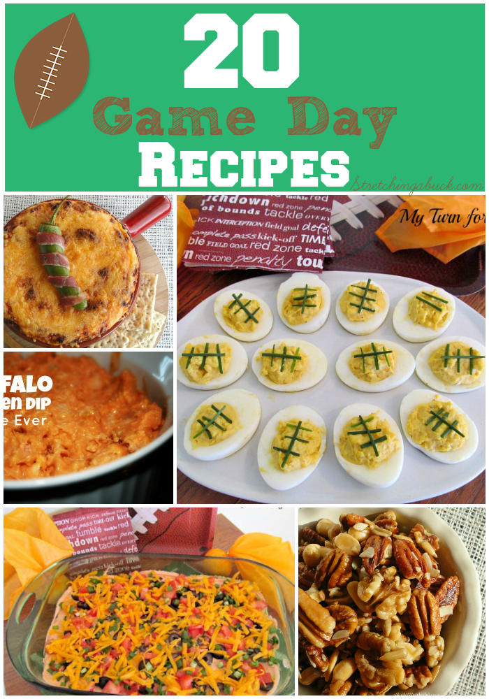 20 Game Day Recipes Buffalo Ranch Dip Pizza Puffs More
