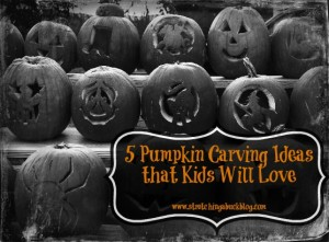 5 pumpkin carving ideas that kids will love