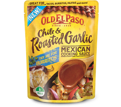 Chile  Roasted Garlic Mexican Cooking Sauce
