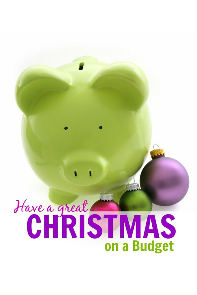 how to have a great christmas on a budget p